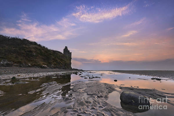 Ayrshire Photograph - Greenan Castle by Rod McLean