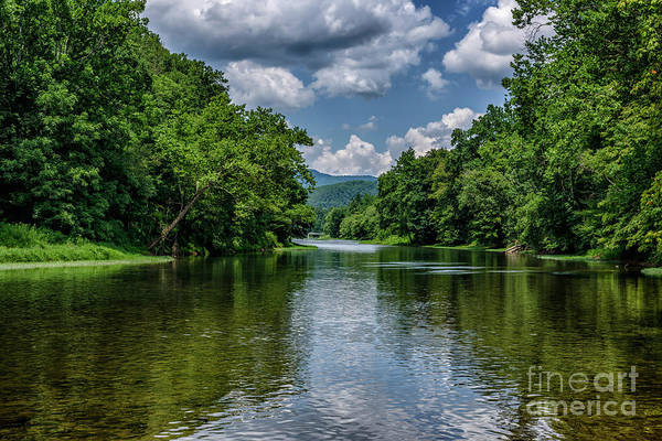 Photograph - Greenbrier River Watoga State Park by Thomas R Fletcher