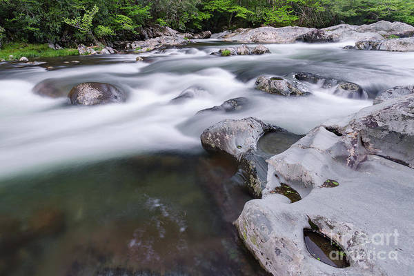 Photograph - Greenbrier Water Cascade by Richard Sandford
