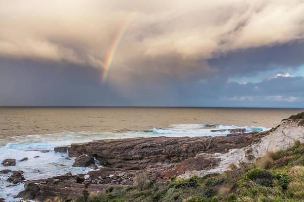 Boyd Photograph - Green Cape Rainbow by Racheal Christian