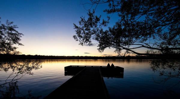 Lake Sunset Photograph - Greenlake Sunset by Mike Reid