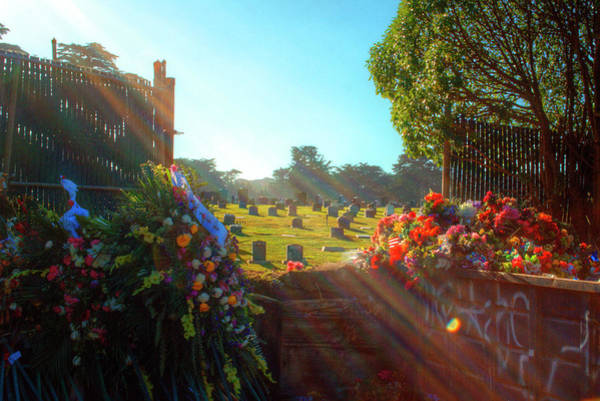 Mono No Aware Photograph - Greenlawn Cemetery Colma by Deborah Smolinske