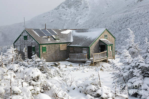 Photograph - Greenleaf Hut - Mount Lafayette New Hampshire by Erin Paul Donovan