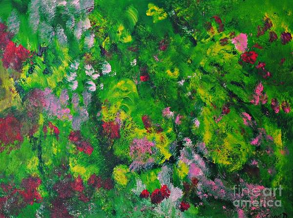 Painting - Greens by Chani Demuijlder