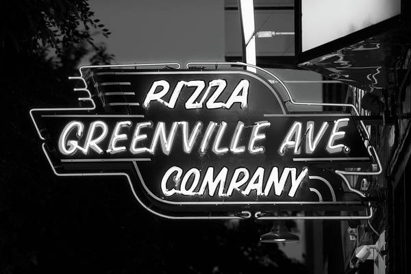 Photograph - Greenville Ave B W 061918 by Rospotte Photography