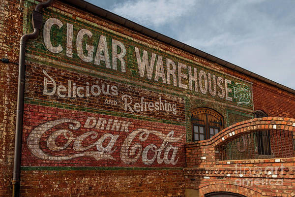 Photograph - Greenville Cigar Warehouse by Dale Powell