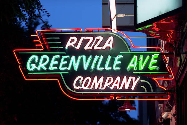 Photograph - Greenville Neon 061918 by Rospotte Photography