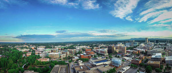 Photograph - Greenville Skyline by James Richardson