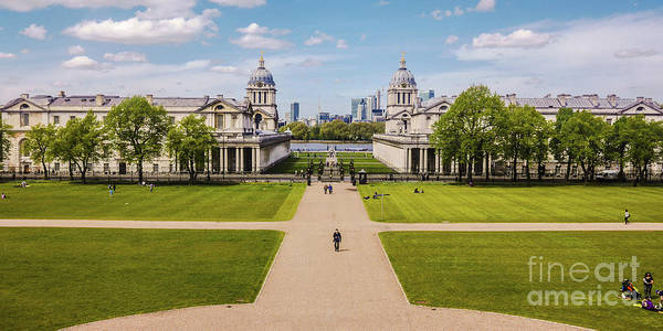 Photograph - Greenwich Park And The Old Royal Naval College England by Lexa Harpell