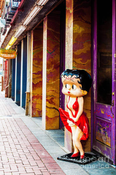 Greeters Photograph - Greeter In The Big Easy by Frances Ann Hattier