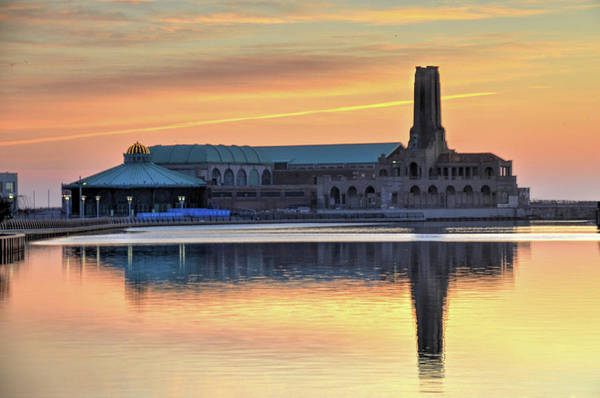 Down The Shore Photograph - Greetings From Asbury Park Nj by Bob Cuthbert