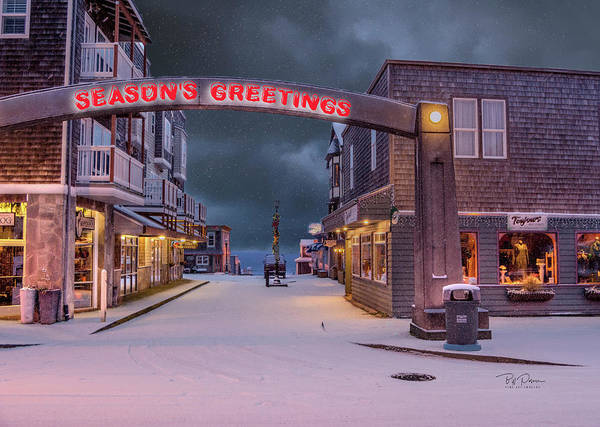 Photograph - Greetings From Nye Beach by Bill Posner