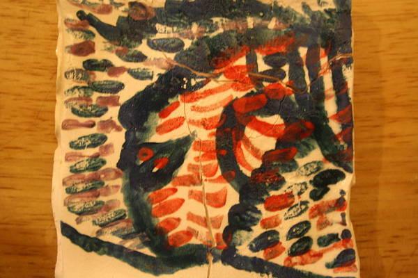 Ceramic Art - Gregarious - Tile by Gloria Ssali