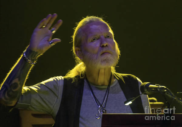 Harrahs Photograph - Gregg Allman by David Oppenheimer
