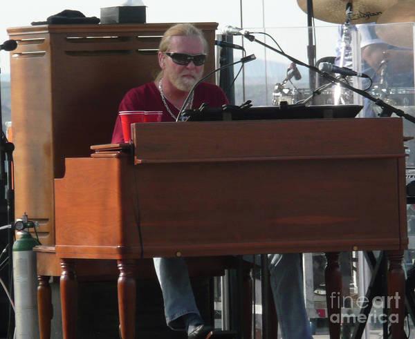 Allman Brothers Band Photograph - Gregg Allman by David Plastik