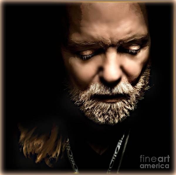 Mixed Media - Gregg Allman by Wbk
