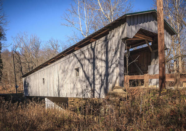 Photograph - Gregg Covered Bridge  by Jack R Perry