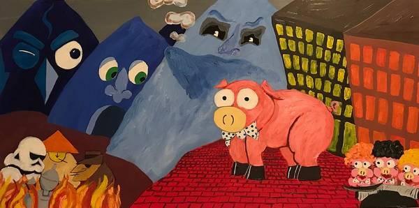 Frank Zappa Painting - Greggery  by Mark Zanni