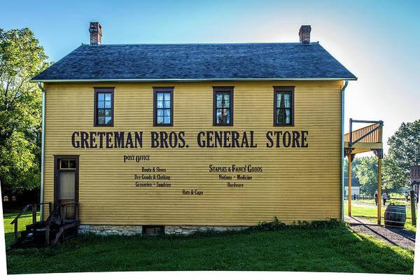 Wall Art - Photograph - Greteman Bros General Store by Paul Freidlund
