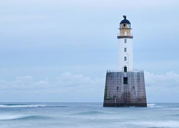 Photograph - Grey Skies At Rattray Head by Stephen Taylor