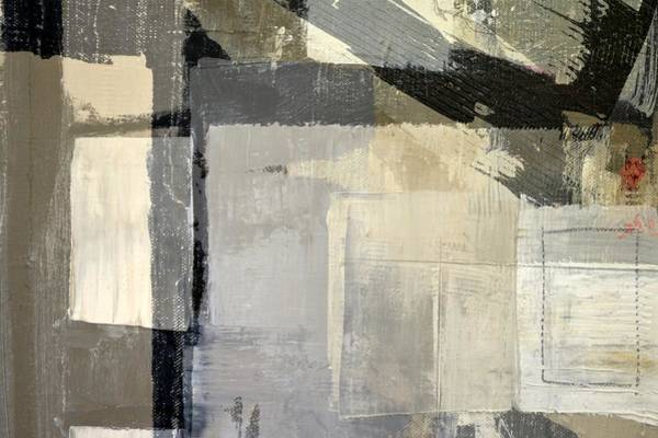 Painting - Grey White Black 2.0 by Michelle Calkins