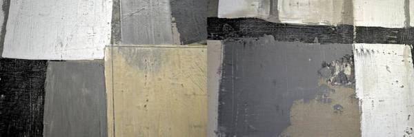 Painting - Grey White Black 5.0 by Michelle Calkins