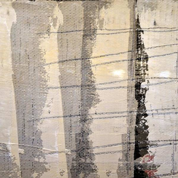 Painting - Grey White Black by Michelle Calkins