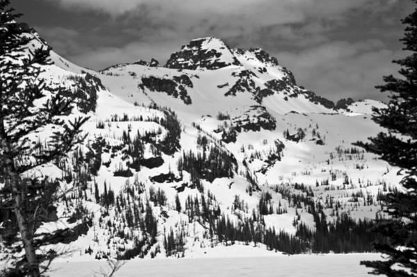 Grey Wolf Peak, Mission Mountains Art Print