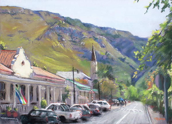 Pastel - Greyton Art Walk by Christopher Reid