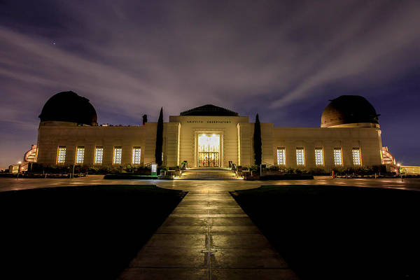 Griffith Observatory Art Print by Robert Aycock