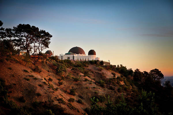Photograph - Griffith Observatory Sunset by Gene Parks