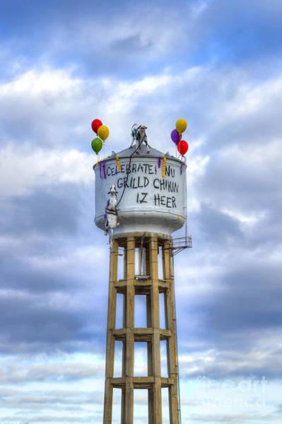 Photograph - Grilld Chikin Atlanta Billboard by Reid Callaway