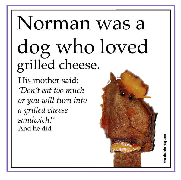 Digital Art - Grilled Cheese Dog by Graham Harrop