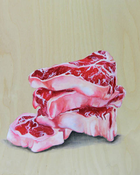 Protein Painting - Grilling Memories by Lacey Hermiston