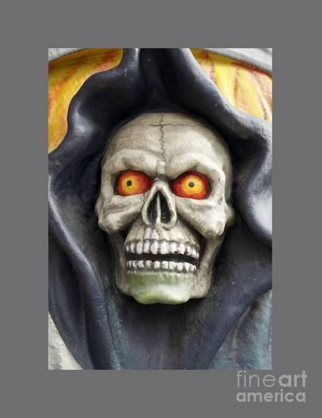 Satanism Digital Art - Grim Reaper by Frederick Holiday