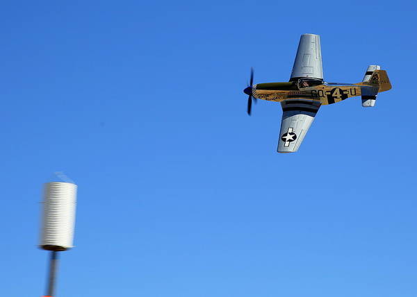 Photograph - Grim Reaper.  P51d.  Not Just Your Father's Show Plane by John King