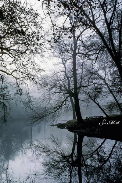 Tulpehocken Creek Photograph - Grings Mill Fog 1043 by Scott McAllister
