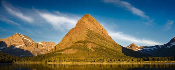 Wall Art - Photograph - Grinnel Peak Glacier N P by Steve Gadomski