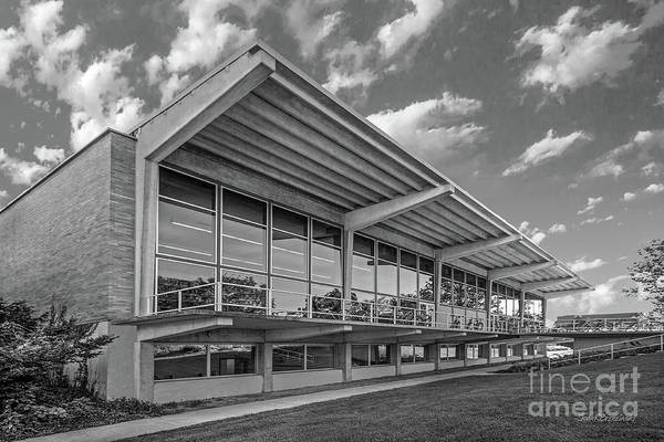 Photograph - Grinnell College Burling Library  by University Icons