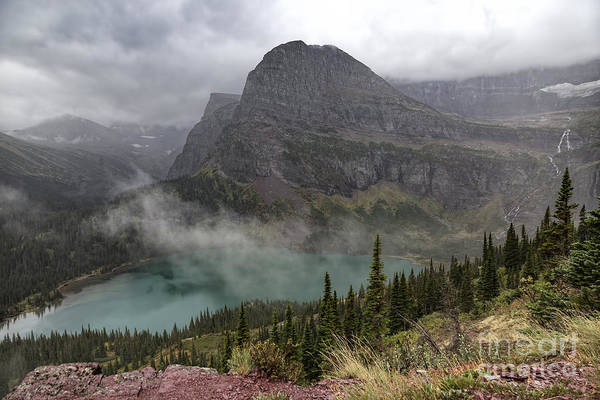 Photograph - Grinnell Lake And Angel Wing by Jemmy Archer