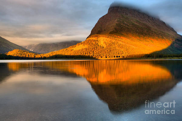 Photograph - Grinnell Morning Orange by Adam Jewell