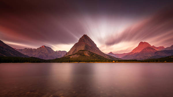 Photograph - Grinnell Sunrise by Pierre Leclerc Photography