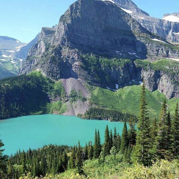 Photograph - #grinnellglacier #trail by Patricia And Craig