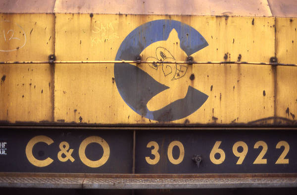 Chesapeake And Ohio Wall Art - Photograph - Grinning Cat Train - 1 by Randy Muir