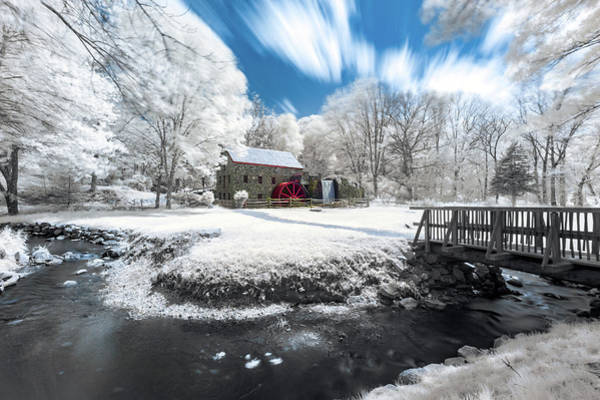 Photograph - Grist Mill In Halespectrum by Brian Hale