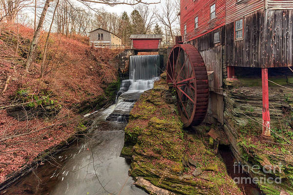 Photograph - Grist Mill by Rod Best
