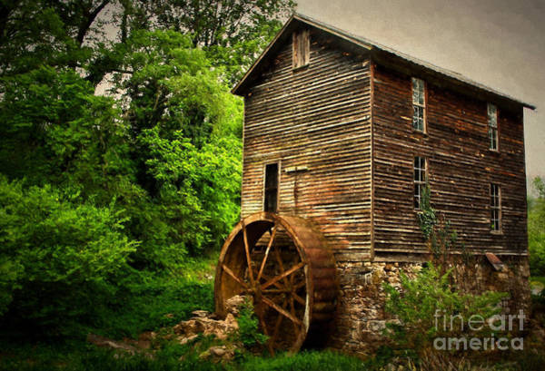 Photograph - Gristmill  by Dave Bosse