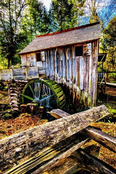Photograph - Gristmill by Norman Hall