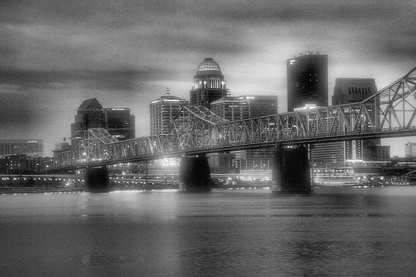 Ohio River Photograph - Gritty City by Steven Ainsworth