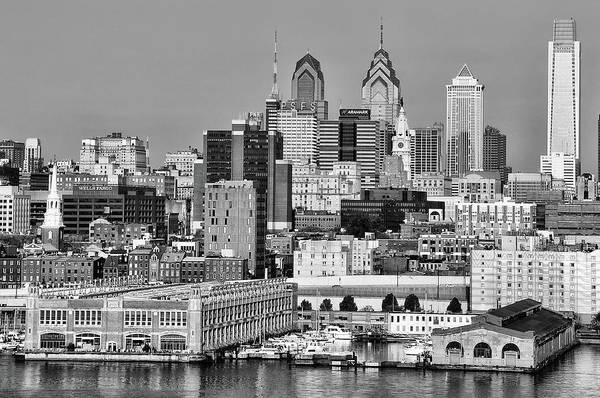 Photograph - Gritty Cityscape - Philadelphia by Bill Cannon